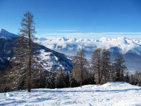Verbier Alpine vista