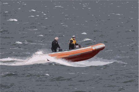 波を通して電源堅い膨脹可能なボート リブ
