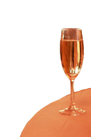 flauta: flauta de Champagne