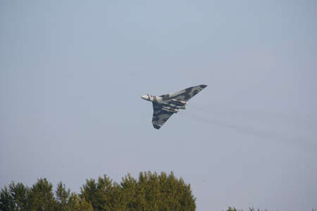 Vulcan XH558 Bomber aeroplane Editorial