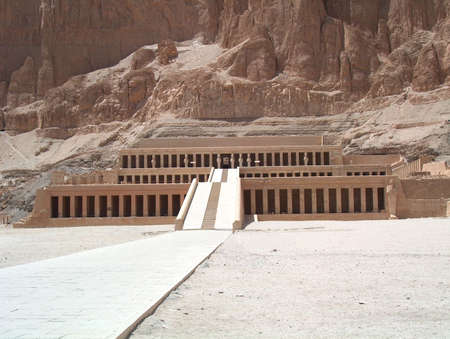 luxor: Ancient historic egyptian temple in luxor egypt