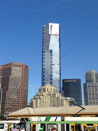 The Eureka Tower in Melbourne Australia.