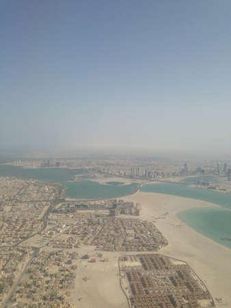 Air view of Manama Bahrain.