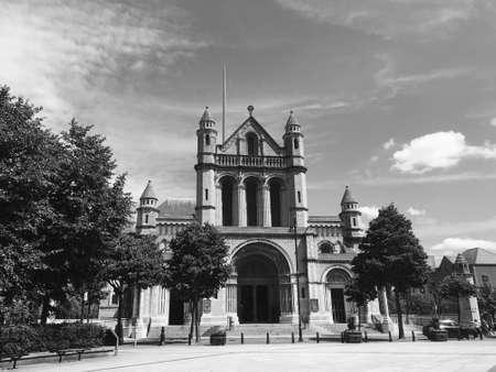 Saint Anne's Cathedral Belfast Northern Ireland UK Stock Photo