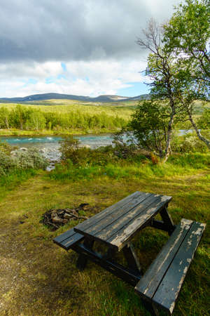 Resting Place at Norway Stock Photo