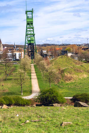 coal tower in erin park at ruhr area in castrop rauxel