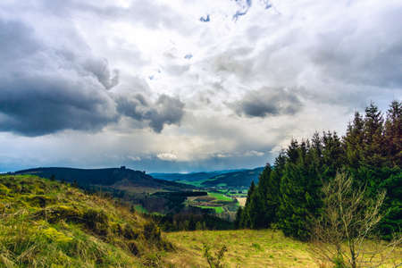 After the rain at germany sauerland