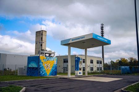 stazione dell'idrogeno
