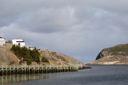 newfoundland: Scenery view of  Burin, Newfoundland, Canada Stock Photo