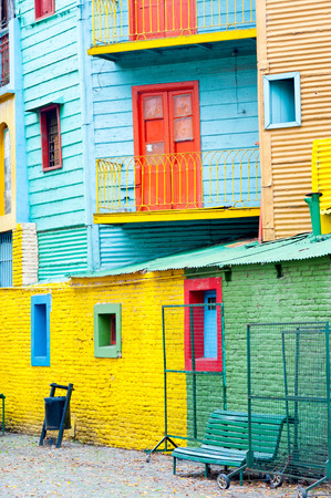 aires: This image shows Colorful La Boca, Buenos Aires