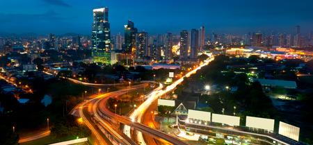 パナマ シティの夜