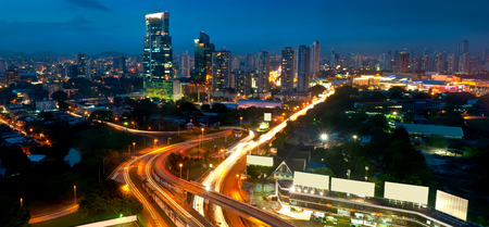 panama city: Panama City by Night