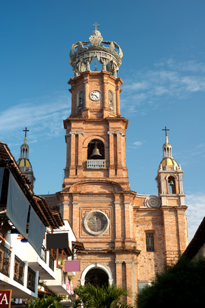 jalisco: This image shows the Church of Our Lady of Guadalupe in Puerto Vallarta, Jalisco, Mexico