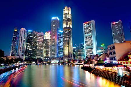 この画像は、シンガポールのボートキーを示しています 写真素材
