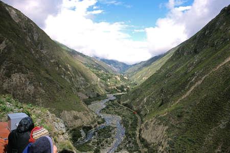 diablo: This image shows the La Nariz Del Diablo Train - Ecuador Stock Photo
