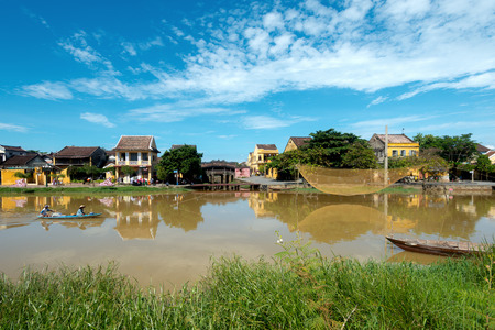 exceptionally: Hoi An Ancient Town an exceptionally well-preserved example of a South-East Asian trading port. Stock Photo
