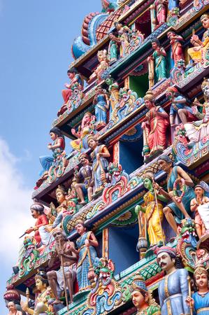 mariamman: This image shows the Sri Mariamman Hindu Temple, Chinatown - Singapore