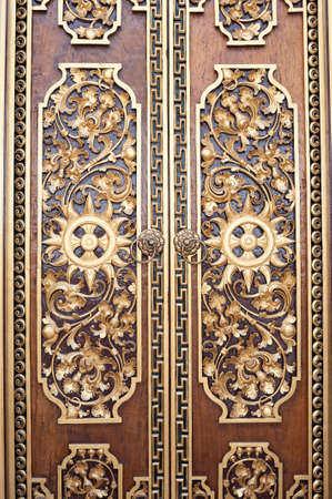 ornate door: This image shows the ornate door at a temple in Bali, Indonesia