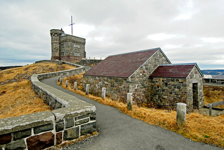 This image shows Signal Hill, St Johns, Newfoundland