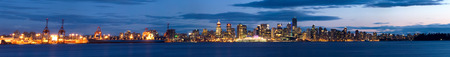 port stanley: This image shows Vancouver, Canada as seen from the North Shore Editorial