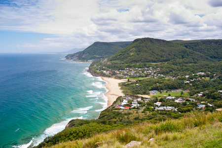 This image shows the Wollongong Coastline in Australia photo