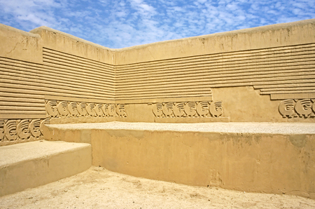 columbian: This image was shot near Trujillo, Peru at the Inca ruins of Chan Chan.