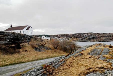 newfoundland: This image shows a Country Church, Newfoundland