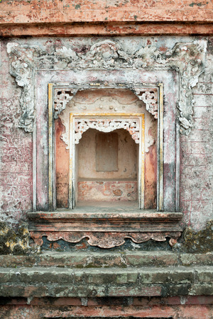 alter: This image shows a Temple Alter in Hanoi, Vietnam Stock Photo