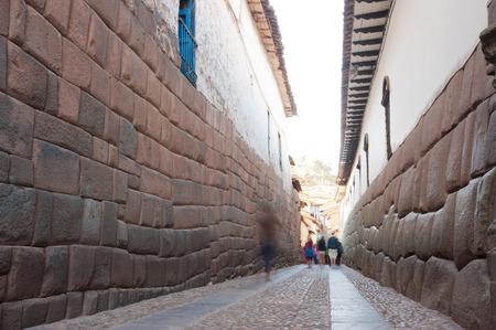 cusco: Streets of Cusco, Peru Stock Photo