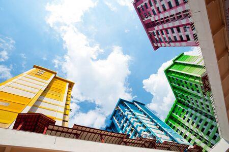 hdb: High Density Housing Block in Singapore