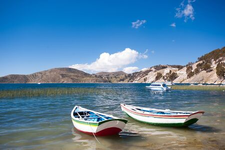 isla: This image shows Isla del Sol, Bolivia