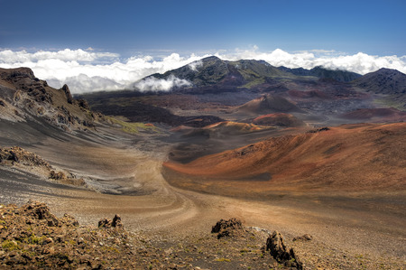 maui: Haleakala Crater - Maui, Hawaii