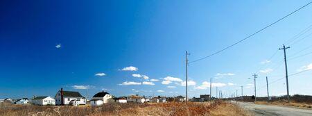 scotia: This image shows a Rural Nova Scotia Town Stock Photo