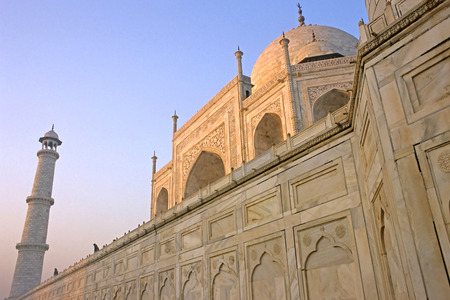 jehan: This image was shot in Agra, India and shows the Taj Mahal at sunrise.