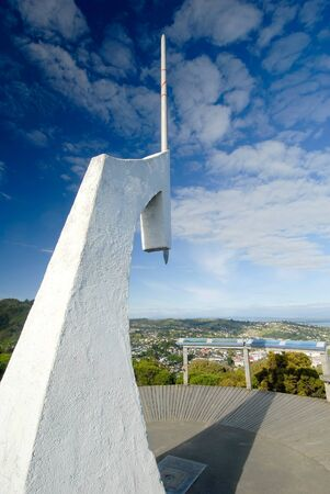 nelson: This image shows the Center of new Zealand Marker - Nelson, New Zealand