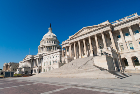us capitol: the US Capitol building  in Washington, DC. Stock Photo