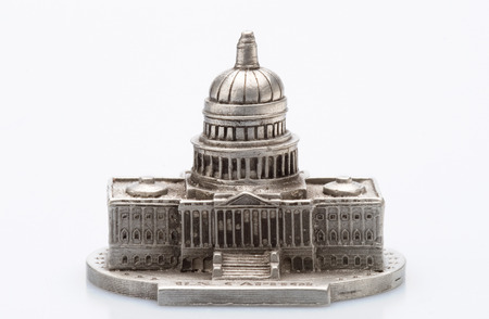 tacky: This image shows a Capital Building Statue