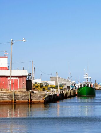 maritimes: This image shows a Maritime Fishing Port