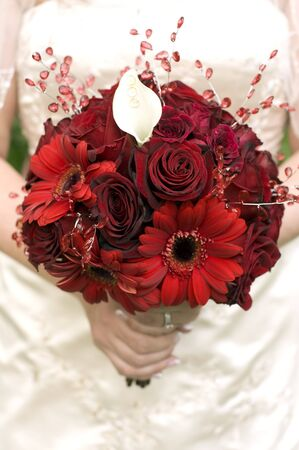 This image shows a beautiful Bridal Bouquet