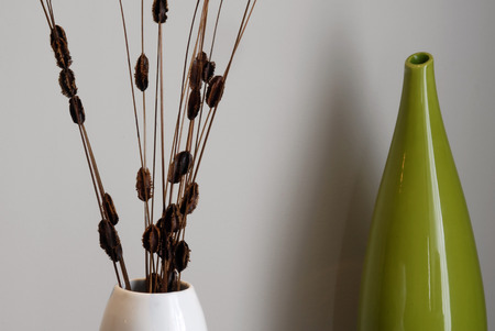 cor: This image shows Home DéCor. (focus is on the back vase)