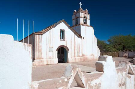 san pedro: This image shows the Church of San Pedro, San Pedro de Atacama, Chile