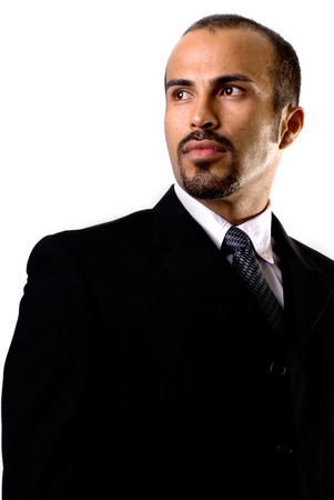 buisiness: This image shows a Confident hispanic buisiness man