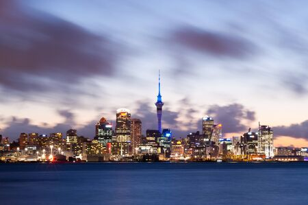 zealand: This image shows the Auckland skyline, New Zealand