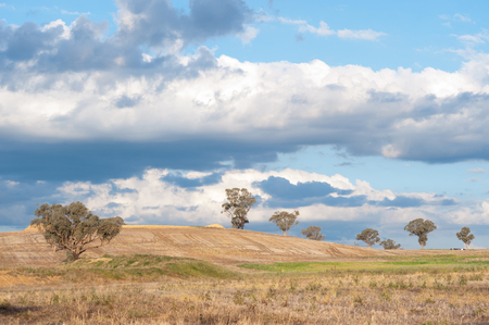 Canberra: This image shows the Landscape north of Canberra, Australia