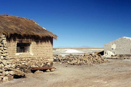 barrack: This image shows a Salt Brick Buildings Stock Photo