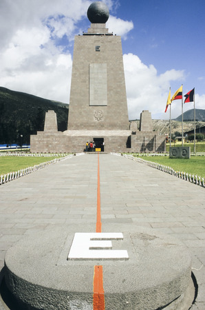 equator: This image shows the Equator Marker in Ecuador.