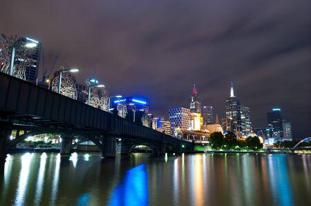 melbourne australia: This image shows Melbourne, Australia Stock Photo