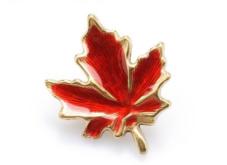 canadian maple leaf: This image shows a Canadian Maple Leaf PIn