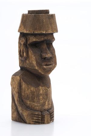 moai: Esta imagen muestra una estatua Cabeza Moai