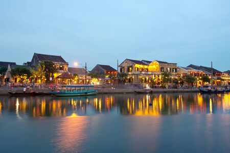 exceptionally: HOI AN, VIETNAM - APRIL 26, 2014. Hoi An Ancient Town is a UNESCO, World Heritage Site, and an exceptionally well-preserved example of a South-East Asian trading port. Editorial